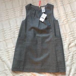 NWT Crewcuts Gray Jumper Dress Size 4T